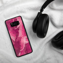 Load image into Gallery viewer, Painted Pattern Samsung Case - Pink