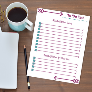 To Do List Daily Checklist