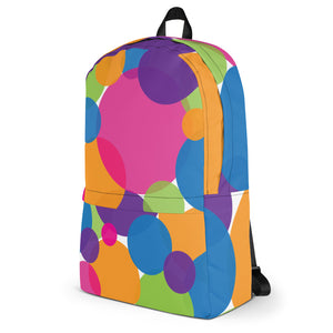 Rainbow Circles Backpack