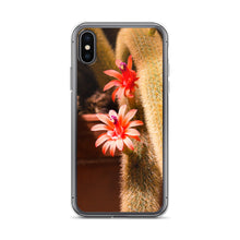 Load image into Gallery viewer, Cactus Pink Flower iPhone Case