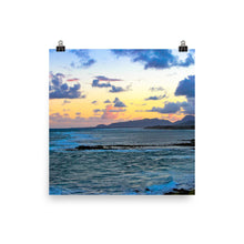 Load image into Gallery viewer, Sunset Ocean - Unframed Print