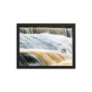 Dreamy Waterfall - Relaxing - Framed Print