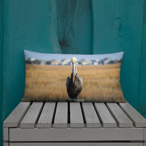 Pelican Pillow - Premium Throw Pillow