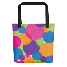 Load image into Gallery viewer, Rainbow Circles Tote Bag