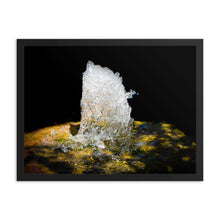 Load image into Gallery viewer, Water Fountain Frozen Motion - Framed Print