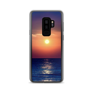 Purple Orange Sunset Samsung Case