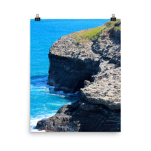 Load image into Gallery viewer, Hawaii Cliffs Ocean View - Unframed Print