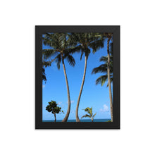 Load image into Gallery viewer, Palm Trees Hawaii Beach - Framed Print
