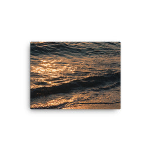 Sunset Waves - Canvas Print