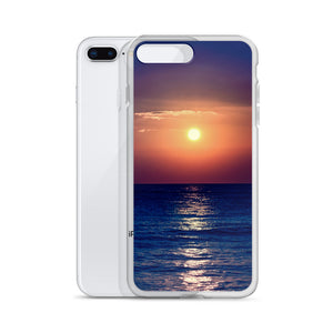 Purple Sunset iPhone Case