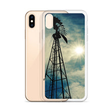 Load image into Gallery viewer, Windmill Sunset - iPhone Case