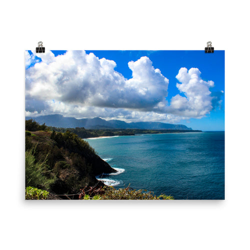 Hawaii View - Unframed Print