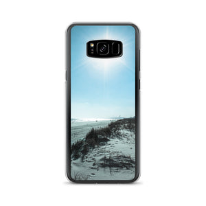 Beach Blue Sky Samsung Case