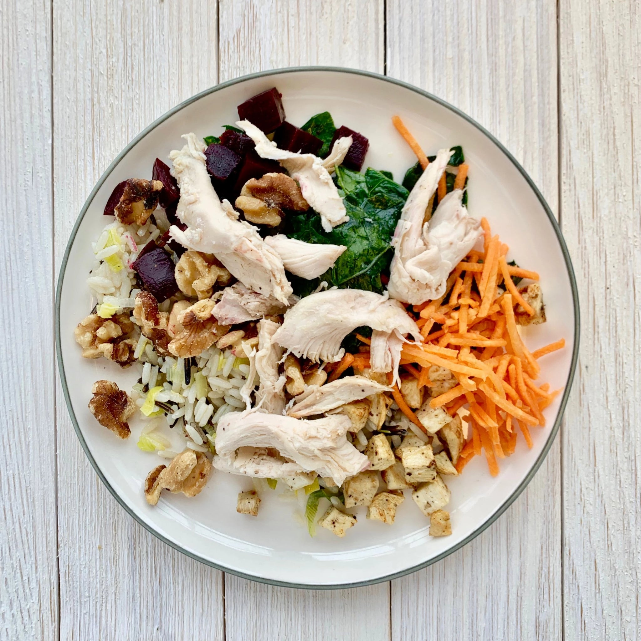 Chicken, Vegetable & Wild Rice Bowl