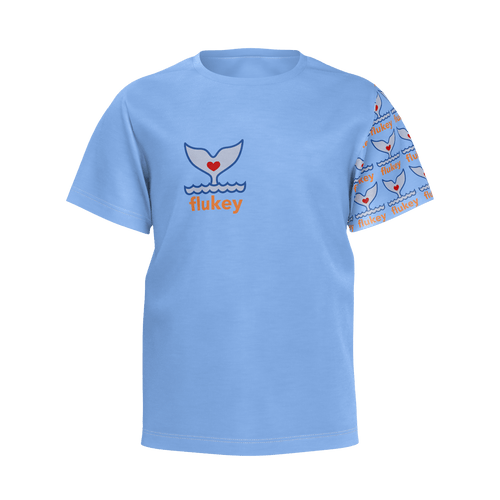 Boys Flukey Pro-Series PIMA Tee in Brackish Blue - flukeylife, flukey