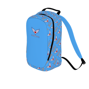 Pro-Series Flukey Companion Backpack in Caribbean Water - flukeylife, flukey