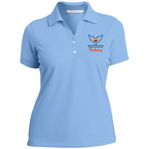 Ladies Flukey Nike® Dri-Fit Pro-Series Polo Shirt - flukeylife, flukey