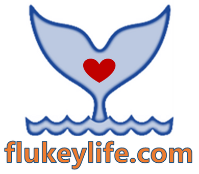 Flukeylife 5 inch square, all weather sticker, Made in USA - flukeylife, flukey