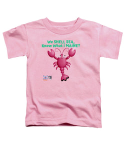 Toddler Flukey Maine LOBSTER T-Shirt - flukeylife, flukey