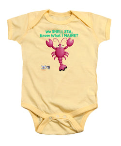 Infant Flukey Maine LOBSTER Baby Onesie - flukeylife, flukey