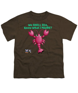 Youth Flukey Maine LOBSTER T-Shirt - flukeylife, flukey