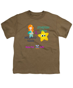 Youth Flukey Mermaid Kisses T-Shirt - flukeylife, flukey