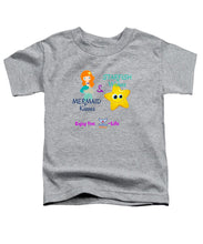 Toddler Flukey Mermaid Kisses T-Shirt - flukeylife, flukey