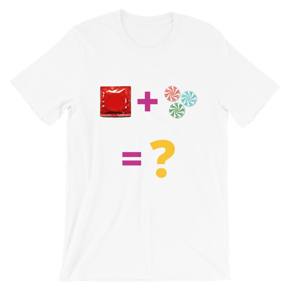 Flukey Condiments Riddle Tee