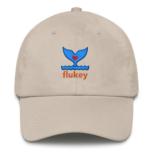 Classic Flukey Brand Cotton Cap Made in USA - flukeylife, flukey