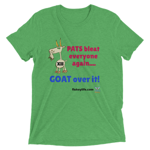 GOAT OVER IT Men's sized SS t-shirt