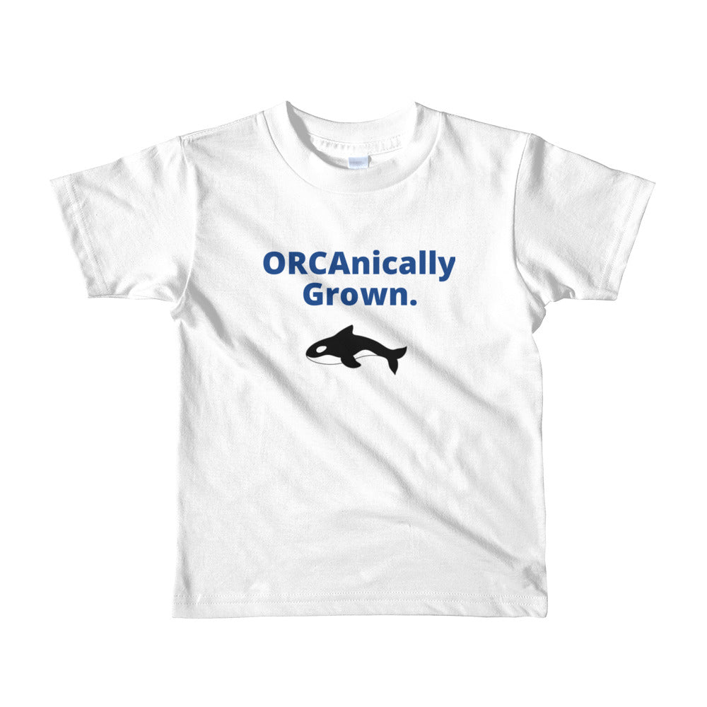 Kids ORCAnically Grown short sleeve t-shirt - flukeylife, flukey