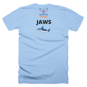Men's Flukey BOAT JAWS T-Shirt Made in USA - flukeylife, flukey