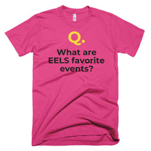 Men's Q&A EELS CURRENT Short-Sleeve T-Shirt Made in USA. - flukeylife, flukey