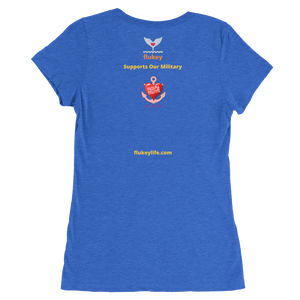 Flukey NAVY MOM Anchor tee shirt - flukeylife, flukey