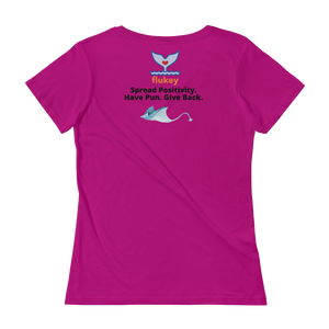 Ladies' No Permagrumps Scoopneck T-Shirt