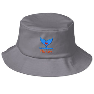 Flex Fit flukey Old School Bucket Hat - flukeylife, flukey