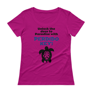 Ladies' PERDIDO KEY Scoopneck T-Shirt
