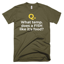 Men's Q&A WORM Short-Sleeve T-Shirt Made in USA. - flukeylife, flukey