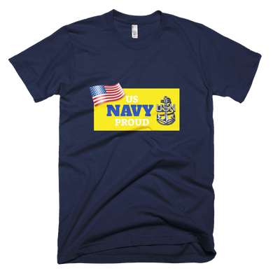 Flukey US NAVY PROUD Tee Made in USA - flukeylife, flukey