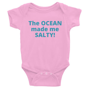 Infant's SALTY OCEAN Bodysuit - flukeylife, flukey