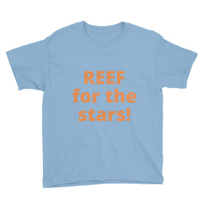 Youth REEF Stars Short Sleeve T-Shirt - flukeylife, flukey