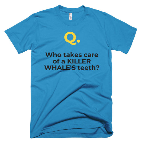 Men's ORCA-dontist Short-Sleeve T-Shirt Made in USA. - flukeylife, flukey