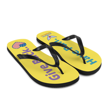 Flukey HFGB Flip-Flops in Canary Island Yellow