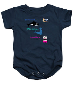 Infant Think Play Love Onesie - flukeylife, flukey