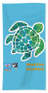 Flukey TURTLE Hpgb Beach Towel & Sheet - flukeylife, flukey