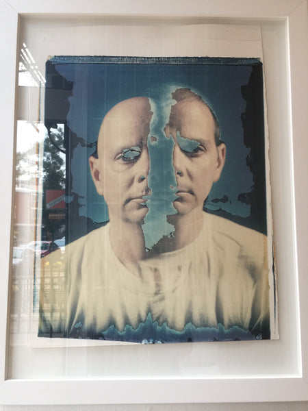 "Jose PIcayo ""Self Portrait With Twin Brother"" (1992)"