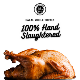 Pre-Order Zabiha Halal Whole Turkey