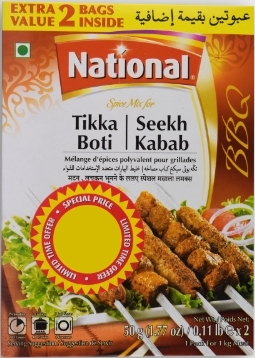 National Tikka Boti / Seekh Kebab