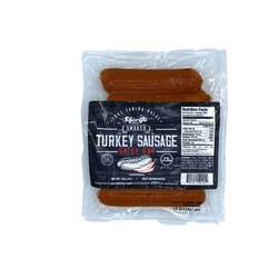 Sharifa Halal Smoked Turkey Sausage-Spicy Hot