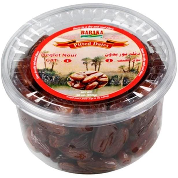 Baraka Pitted Dates Tub - HalalWorldDepot